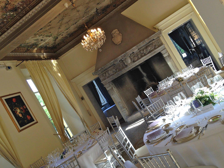 sala azzurra e camino eventi aziendali milano
