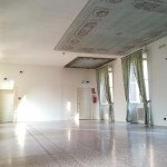 sala colonne villa castelbarco