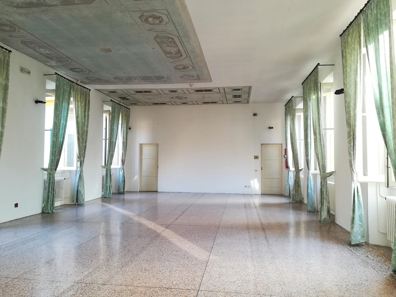 Sala del colonnato - location eventi Milano - Villa Castelbarco