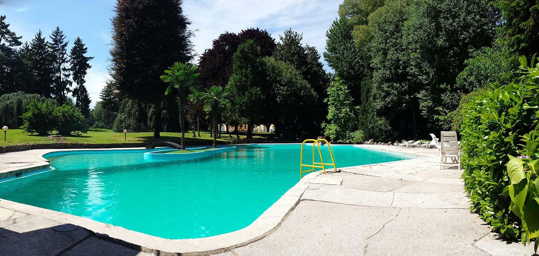 Piscina - location eventi Milano - Villa Castelbarco
