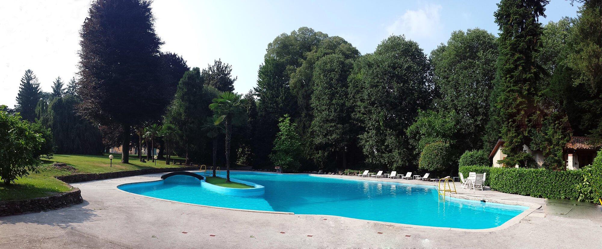 Piscina, Villa Castelbarco, Eventi Aziendali