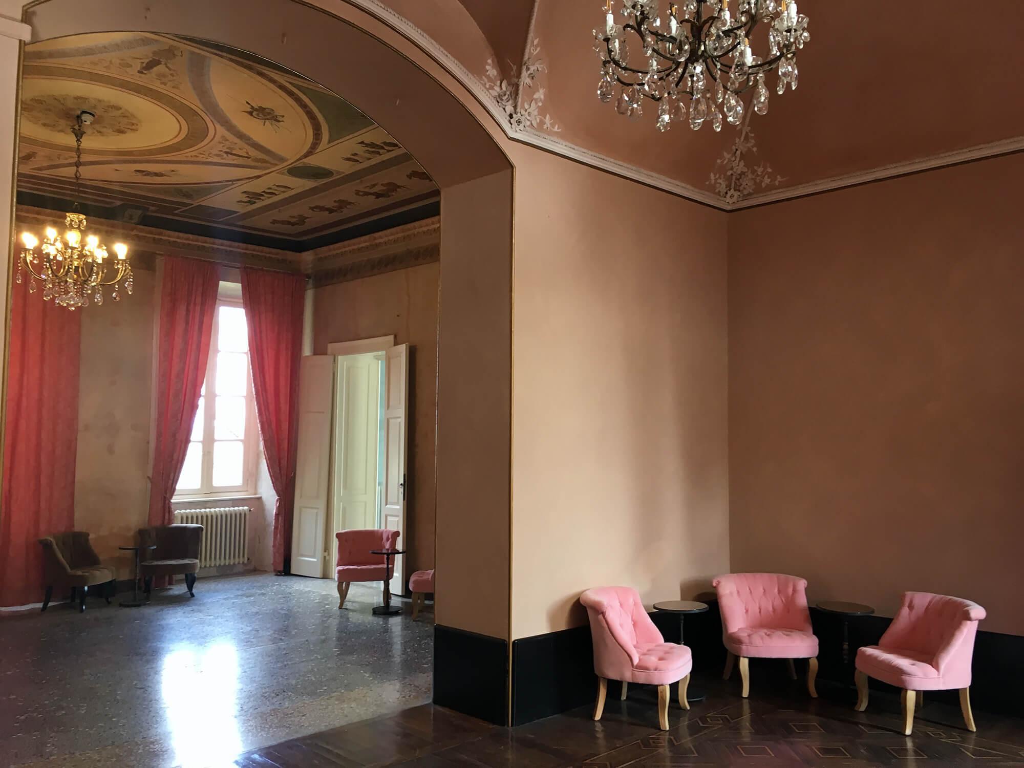 Sale del conte, Villa Castelbarco, Eventi aziendali