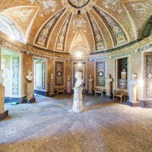 sotterranei della villa castelbarco